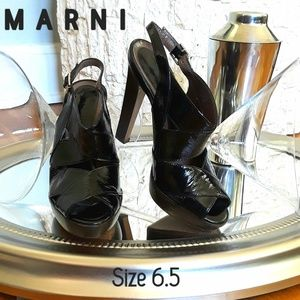 EUC Marni Patent Leather Heels